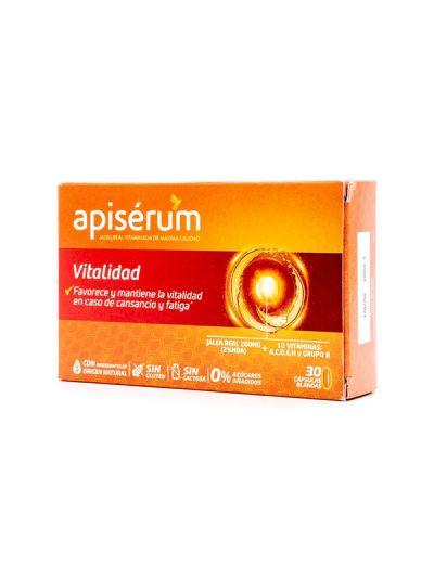 Apiserum Vitalidad 30 caps