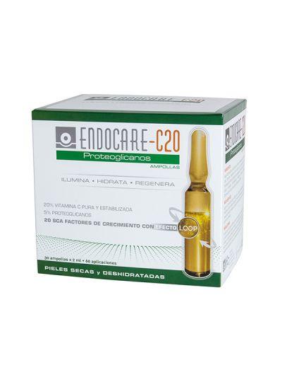 Endocare C 20 Proteoglicanos 30 Ampollas