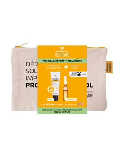 Pack Heliocare Gel Oil Free 50 ml + Endocare Radiance 10 Ampollas
