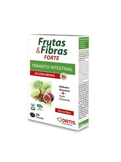 Ortis Transito Intestinal Fruta y Fibra Concentrado 30 comp