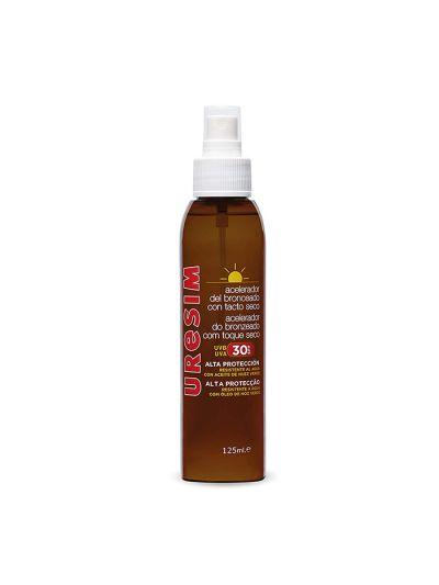 Uresim Spray SPF30 Acelerador del Bronceado en Aceite 125ml
