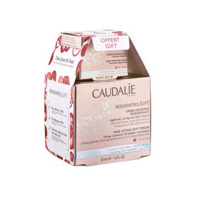Caudalie Resveratrol Pack Crema Cachemir 50ml + Tisana Noche 15ml de Regalo
