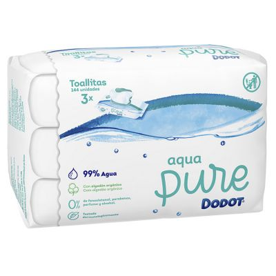 Dodot toallitas Aqua Pure 144 und