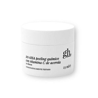 Gh 20 AHA Peeling Químico con Vitamina C de Acerola 20 Discos