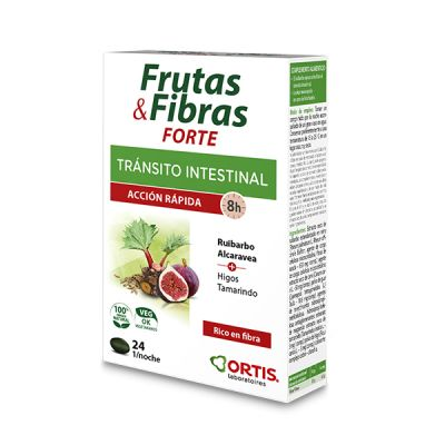 Ortis Transito Intestinal Fruta y Fibra Concentrado 30 comp