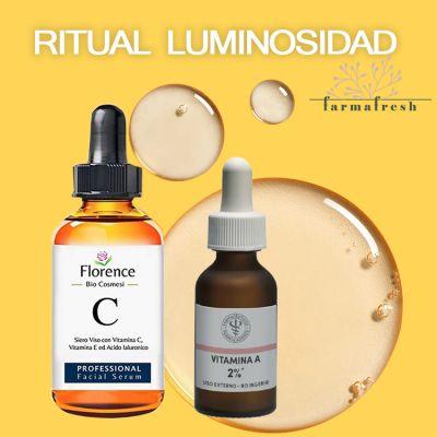 Ritual Luminosidad - Serum Florence Vitamina C + Retinol