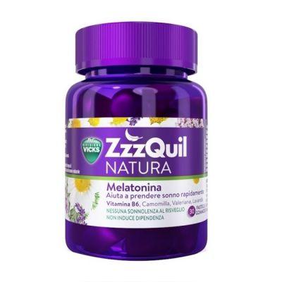 ZzzQuil Natura Vicks Melatonina 30 Gominolas