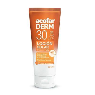 Acofar Solar loción Crema SPF 30 200 ml