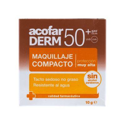 AcofarDerm Maquillaje Compacto SPF50+ 10g