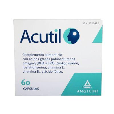 Angelini Acutil 60 Cápsulas