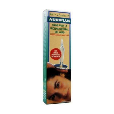 Auriplus Cono para Higiene Natural del Oido