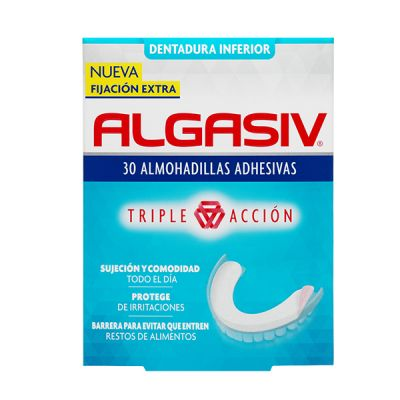 Algasiv 30 Almoadillas Adhesivas Inferiores