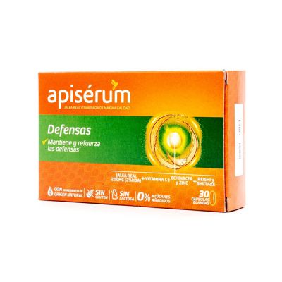 Apiserum Defensas Pack 3 meses 90 caps