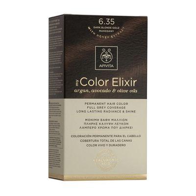 Apivita Tinte Rubio Oscuro Dorado Caoba Color Elixir 6,35