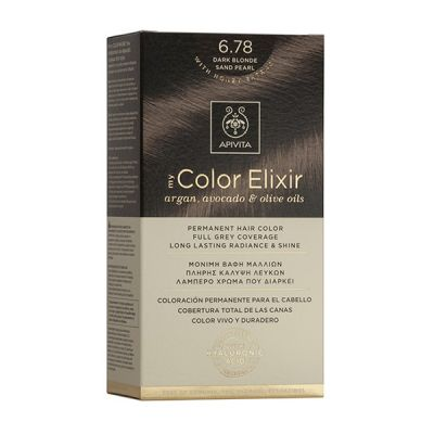 Apivita Tinte Rubio Oscuro Arena Perlado Color Elixir 6,78