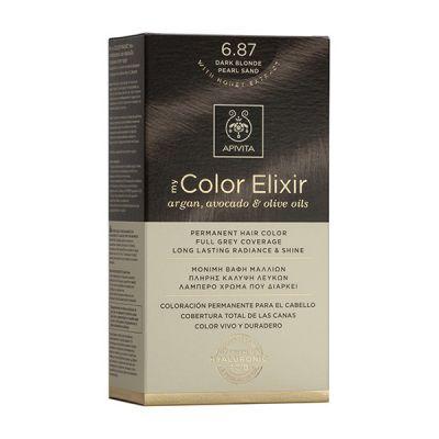 Apivita Tinte Rubio Oscuro Perlado Arena Color Elixir 6,87