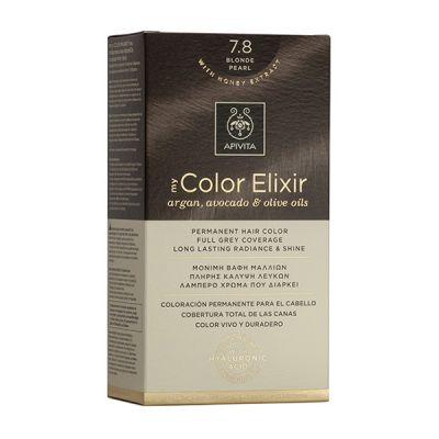 Apivita Tinte Rubio Perlado Intenso Color Elixir 7,8