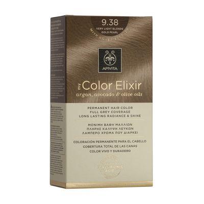 Apivita Tinte Rubio Claro Dorado Intenso Color Elixir 9,38