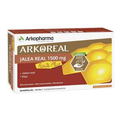 Arko Real Jalea Real Forte Plus 1500mg  20 Ampollas