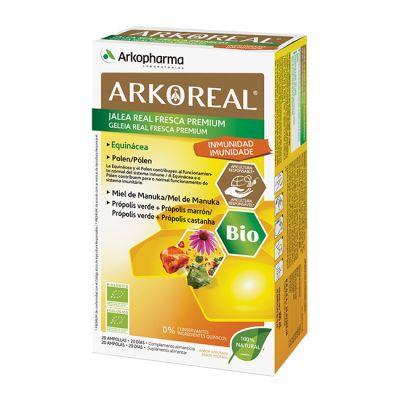 Arko Real Jalea Real Fresca Premium Inmunidad Bio  20 Ampollas