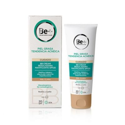 Be+ BB Cream Piel Clara Reguladora Matificante SPF20 40ml
