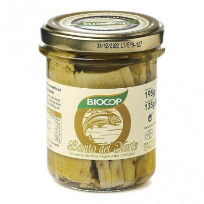 Biocop Bonito del Norte en Aceite de Oliva Virgen Extra Biologico 195g