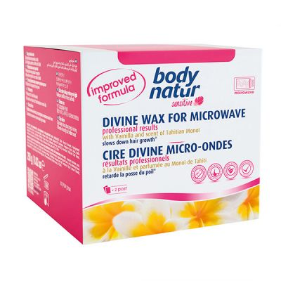 Body Natur  Sensitive Cera Divina Microondas  230gr