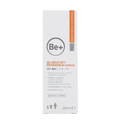 Be+ Gel Reductor y Reparador de Cicatrices SPF 50+ 20ml
