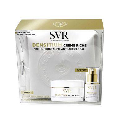 SVR  cofre Densitium Crema Rica Programa Anti-edad Global Regalo Contorno de Ojos
