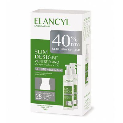 Elancyl Slim Design Celulitis Abdominal 150ml + 150ml Segunda Unidad 40% Dto