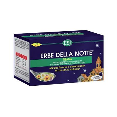 Erbe Della Notte Tisana 20 Filtros