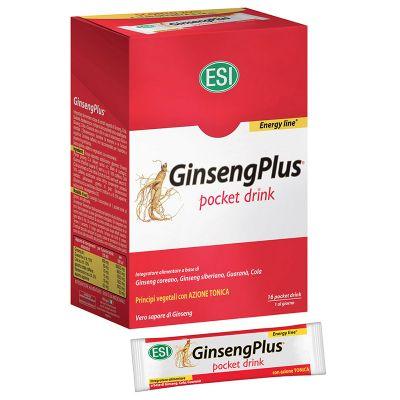 ESI Ginseng Plus Pocket Drink 16 Sobres