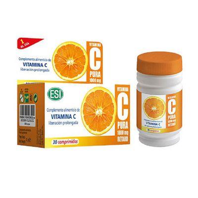ESI Vitamina C Pura Retard 30 Cápsulas