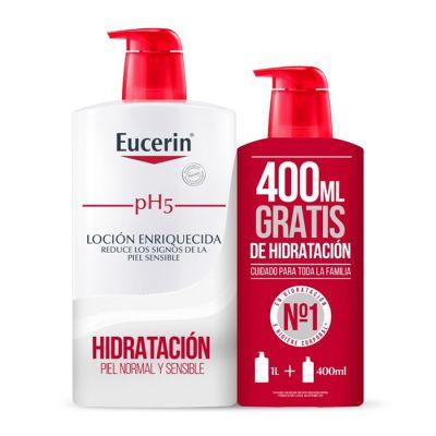 Eucerin pH5 Loción Enriquecida 1L + 400ml gratis