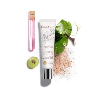 Caudalie Vinoperfect Fluido con Color Piel Perfecta 01 SPF20 40ml