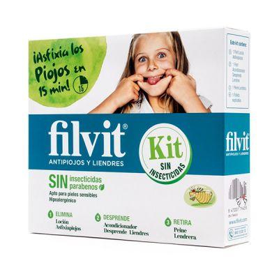 Filvit Tratamiento Antipiojos kit