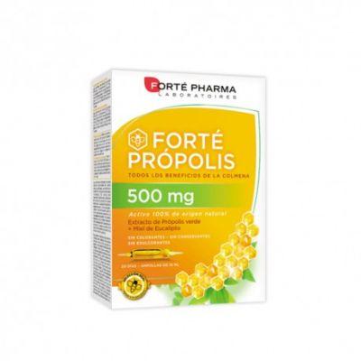 Forté Pharma Jalea Real Propolis 500mg 20 Ampollas