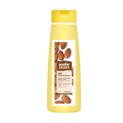 Acofaderm Gel Baño Aceite de Almendras Dulce y Miel 750ml
