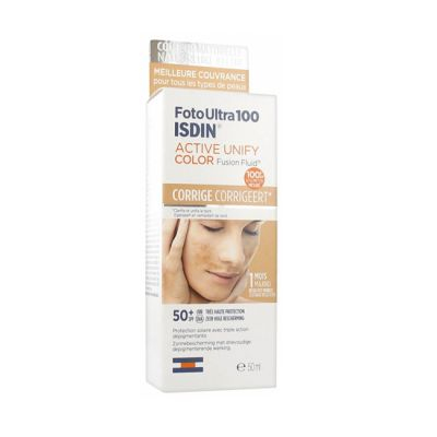 Isdin FotoUltra 100 Active unify Sin Color 50ml