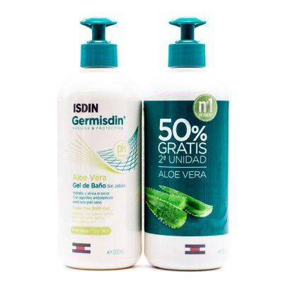 Germisdin Original Gel Baño Antiseptico Aloe Vera 500ml Duplo