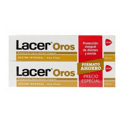 Lacer Oros Pasta Dentífrica Pack 2x125ml