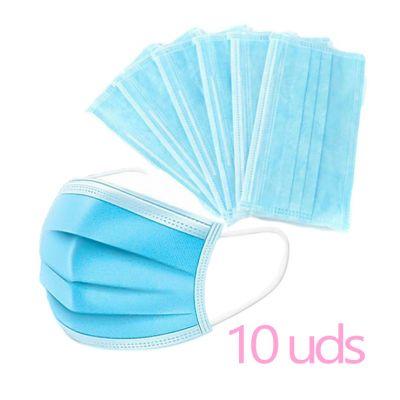 Mascarillas Quirurgicas pack 10 unidades 0,80€ la unidad