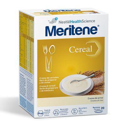 Meritene Cereal Instant  Crema de Arroz 20 Raciones