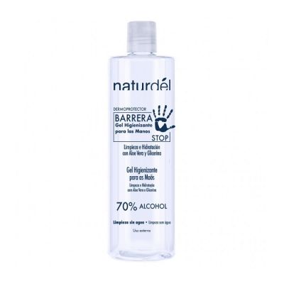 Naturdel Gel Hidroalcoholico Higienizante Manos 500ml