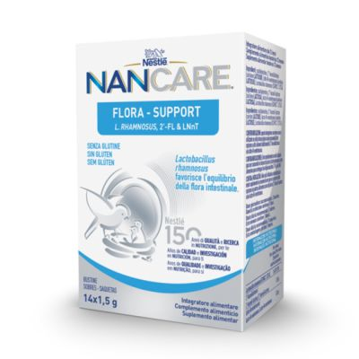 Nestle NANCARE Flora Support Diarrea y Antibioticos 14 Sticks
