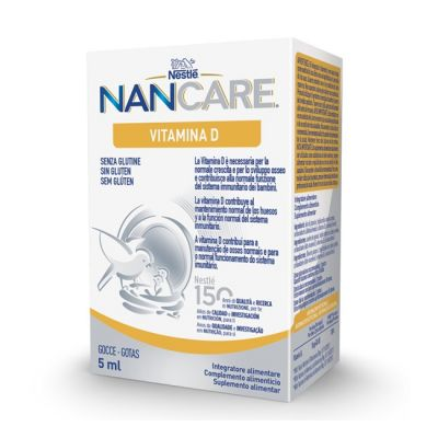 Nestle NANCARE Vitamina D Huesos 5ml