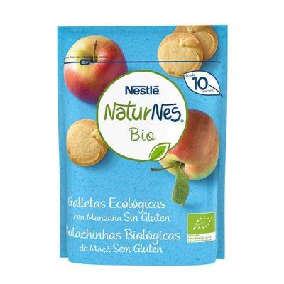 Nestlé Naturnes Bio Galletas Ecológicas con Manzana Sin Gluten 150g