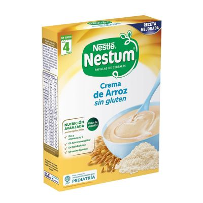 Nestlé Nestum Crema de Arroz Papillas 250g