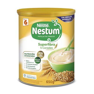 Nestle Nestum Papilla 5 Cereales Superfibra 650g