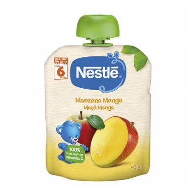 Nestlé Bolsita PureManzana y Mango 90g